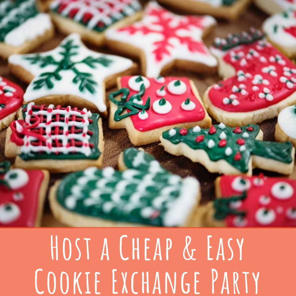 Host a Cheap & Easy Cookie Exchange Party from AMODERNCINDERELLA.COM