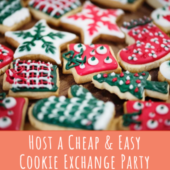 Host A Cheap And Easy Cookie Exchange Party With Free Printables