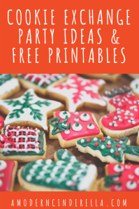 Host a Cookie Exchange with Free Printables from AMODERNCINDERELLA.COM