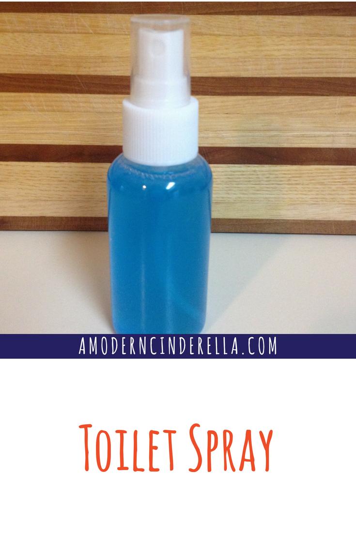 Toilet Spray from AMODERNCINDERELLA.COM